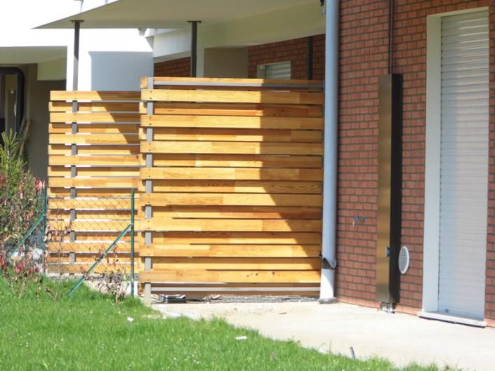 Emmeproject - Frangiole in ferro e legno pettinato trattato con olio