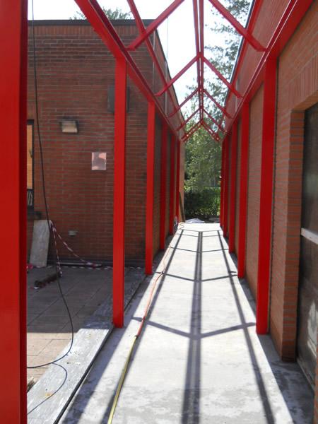 Emmeproject - Strutture in ferro per tunnel