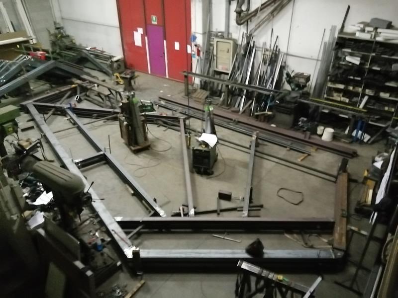 Emmeproject lavorazione carpenteria frangisole speciali